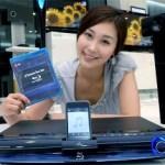 LG HB954TBW Blu-Ray Player includes iPod dock
