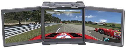 Acme Lunchbox 3 screen LCD Computer