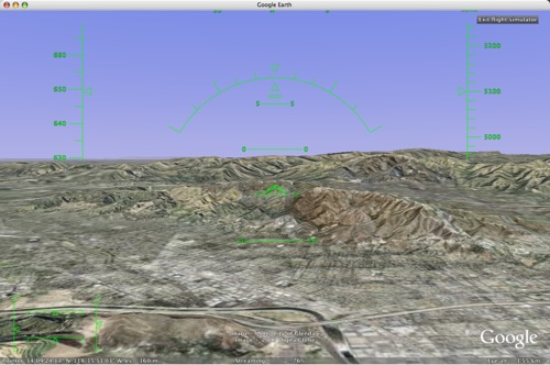 Flight Sim for Google Earth
