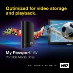 Western Digital My Passport AV portable media drive