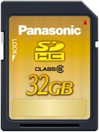 Pan 32GB SDHC