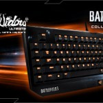 Razer Battlefied 3 BlackWidow Ultimate mechanical keyboard