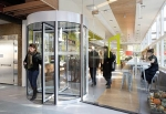 The World's First Energy Generating Revolving Door