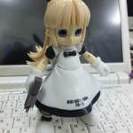 Manga doll turned into robot