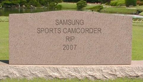 Sports Camcorder RIP
