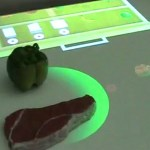 Countertop display tells you what to do with your food