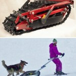 Introducing the Skizee, the Stand-up Snowmobile
