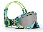 DX Skullcandy/ Ionized Snow Goggles with matching headphones