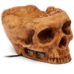 Skullhub USB dampens the mood further