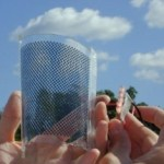 Sphelar solar cells provide a transparent power generator on windows
