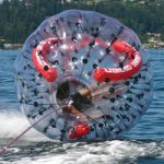 Spinning Tow Ball for water sports lovers
