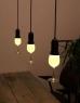 The Glass Light Bulb shaped like a wine glass