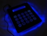 Illuminated Mouse Pad Calculator with USB Hub