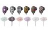 Fashionably patterned earphones