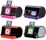 The iHome iHM10B Portable MP3 Player Speaker System