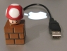 Shroom USB Drive and Mario Brick USB Extension