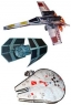3D Star Wars Starfighter Kites