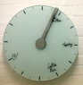 Trace of Time Concept Clock Erases Your Day