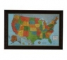 Glowing Pegs US Travel Map