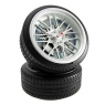 Auto Racing Tire Wheel Clock