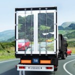 Art Lebedev's See-through Semi-truck