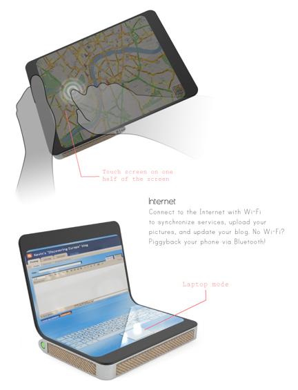 Traveller Laptop Concept