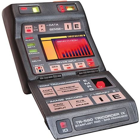 Tricorder Replica