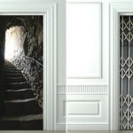 Trompe L'Oeil door covers