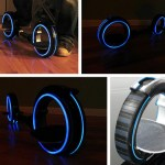 Skatecycle gets a Tron Legacy Makeover