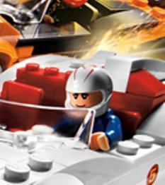 Go Speed Racer, Lego