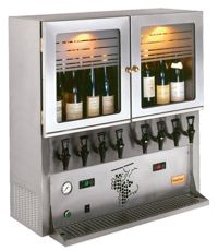 Wine Dispensing Cabinet
