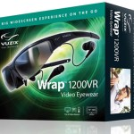 Vuzix Wrap 1200VR video eyewear unveiled