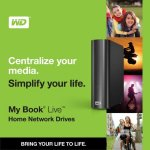Western Digital introduces My Book Live home network drive