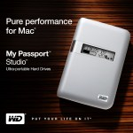 Western Digital My Passport Studio portable drives for Mac