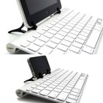 WINGStand truly brings the iDevice and Bluetooth keyboard together