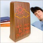WoodStation lets you know of the weather