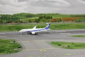 Start eines Flugzeugs