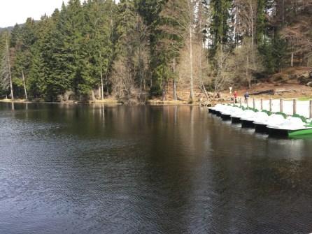 Großer Abersee – Bootsanlegestelle