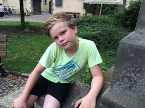 Junior-Radler in Wittenberg