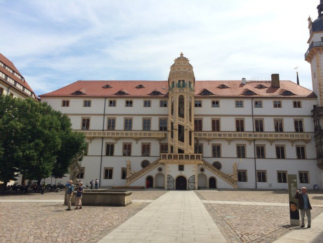Schloß Hartenfels Torgau Innenhof