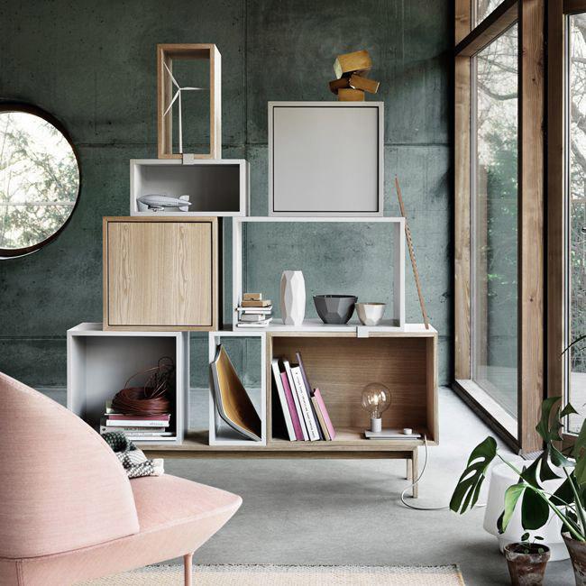 Stacked shelf system