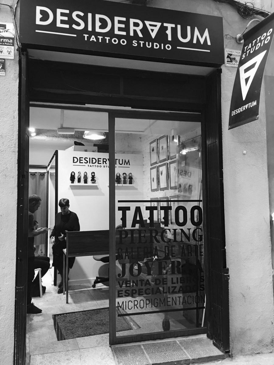 Desideratum Tattoo   Un estudio donde tatuajes y arte se unen