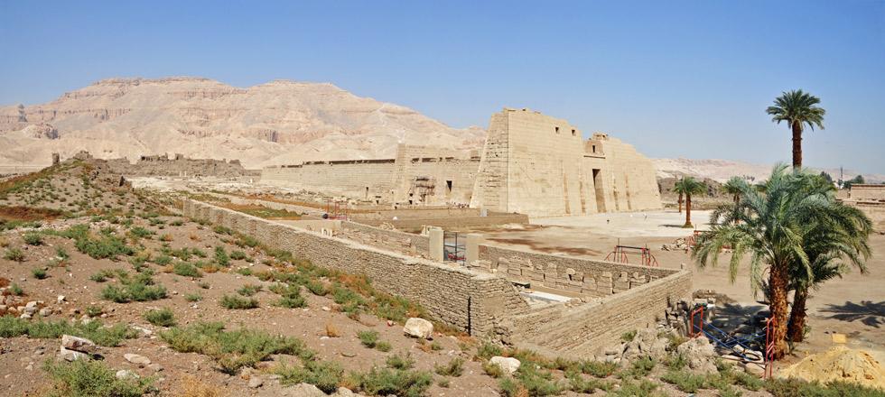 Templo de Ramses III en Medinet Habu. ©Marc Ryckaert