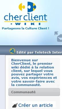 cherclient.com, wiki de la relation client