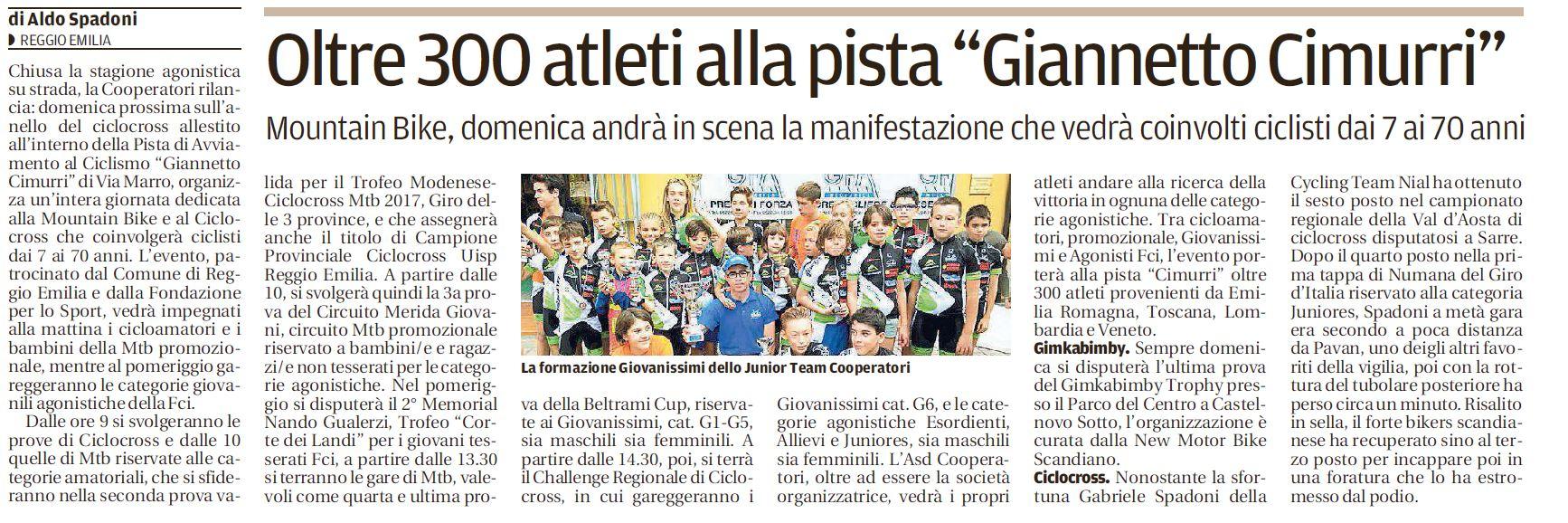 Gazzetta 12-10-2017