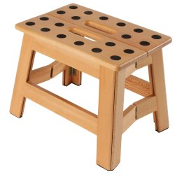 Small Of Wooden Step Stool