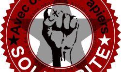 Logo du collectif des étudiants sans papier et solidaire de Lyon