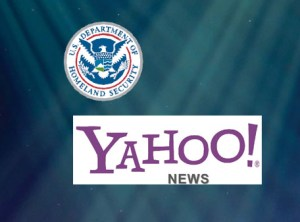 Was Yahoo! News Story Ghostwritten by DHS Employee?