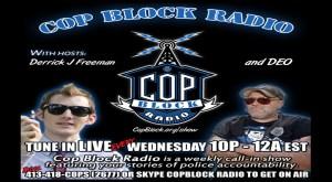 """Police Violence Up, People Violence Down"" on CopBlock Radio"