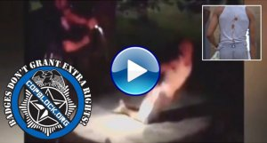 Video Shows City Councilman On Knees Tased In The Back By Cop